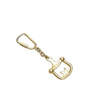 Celine Porte-clés doré métal