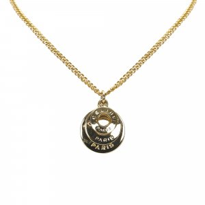 Celine Gold Tone Necklace
