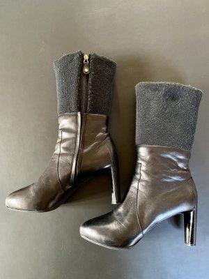 Celine Laarzen met hak zwart