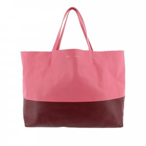 Celine Horizontal Cabas Leather Tote Bag