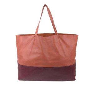 Celine Tote orange leather
