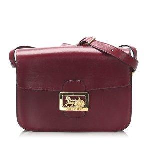 Celine Horse Carriage Leather Crossbody Bag