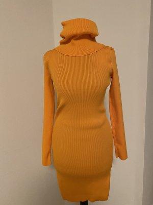 Celine Swetrowa sukienka pomarańczowy