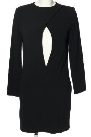 Celine Jurk met lange mouwen zwart casual uitstraling