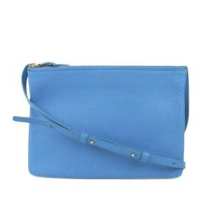 Celine Large Trio Leather Crossbody Bag