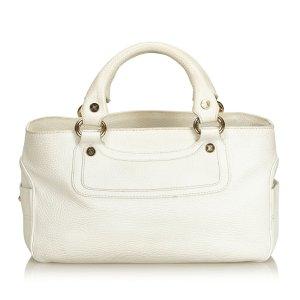 Celine Handbag white leather