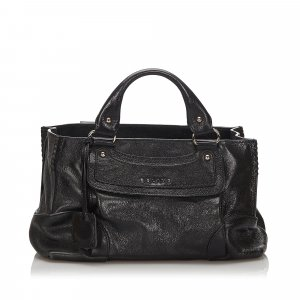 Celine Leather Boogie Handbag