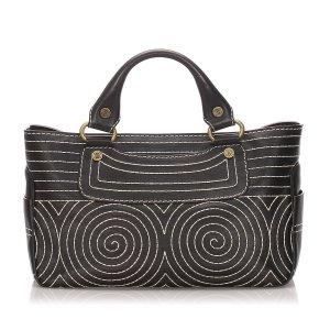 Celine Leather Boogie Handbag