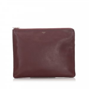 Celine Leather Clutch Bag