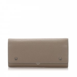 Celine Leather Continental Wallet