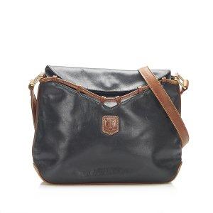 Celine Crossbody bag black leather