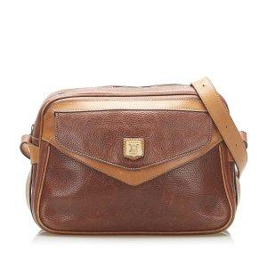 Celine Crossbody bag brown leather