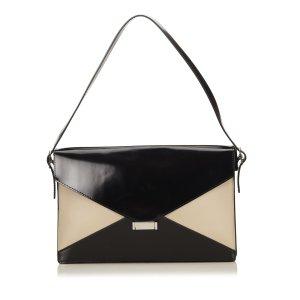 Celine Leather Diamond Shoulder Bag
