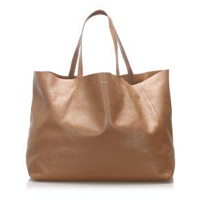 Celine Tote beige leather