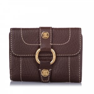Celine Leather Small Wallet
