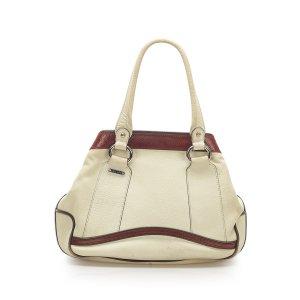 Celine Tote white leather