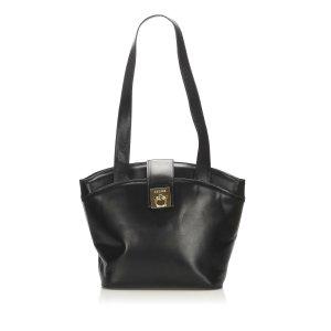 Celine Tote black leather