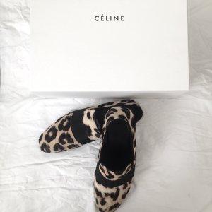 Celine Leopard Slipper/Mokassin