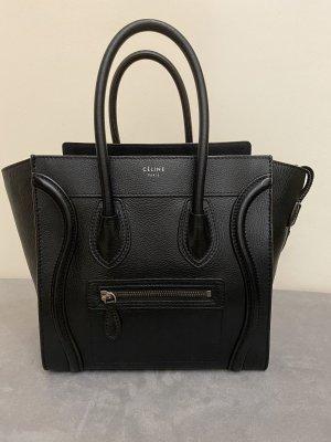 Celine Handbag black leather