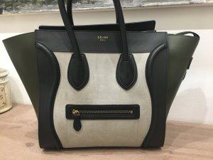 Celine Carry Bag multicolored leather