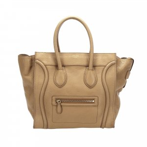 Celine Luggage Tote Leather Tote Bag