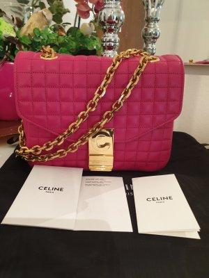 Celine Paris Sac bandoulière doré-rose