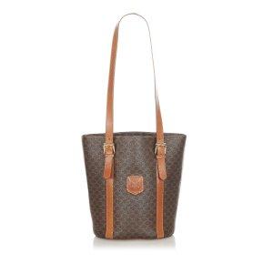 Celine Shoulder Bag dark brown
