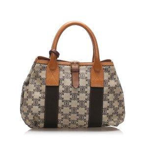 Celine Macadam Canvas Handbag