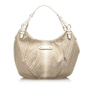 Celine Macadam Canvas Hobo Bag