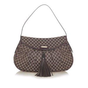 Celine Macadam Canvas Shoulder Bag