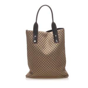 Celine Macadam Canvas Tote Bag