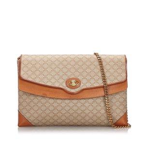 Celine Macadam Chain Shoulder Bag