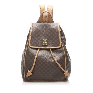 Celine Macadam Drawstring Backpack