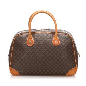 Celine Handbag brown polyvinyl chloride