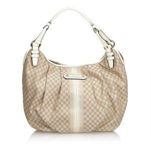 Celine Macadam Jacquard Hobo Bag