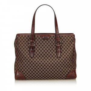 Celine Macadam Jacquard Tote Bag