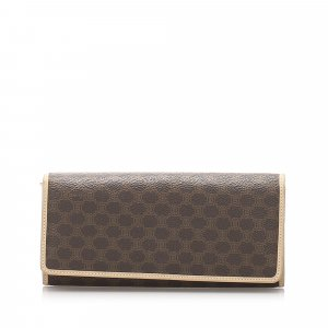 Celine Macadam Long Wallet