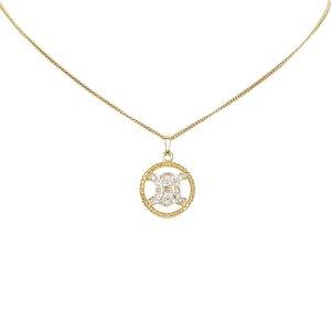 Celine Macadam Pendant Necklace