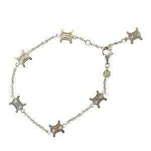Celine Macadam Silver Sv 925