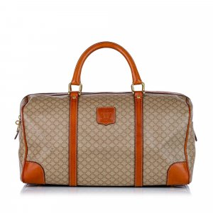 Celine Travel Bag beige polyvinyl chloride