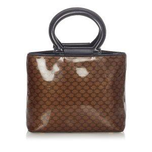 Celine Macadam Vinyl Handbag