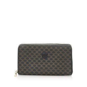 Celine Wallet dark brown