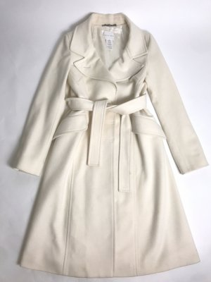 Celine Wool Coat cream