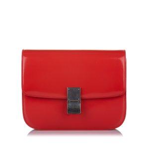 Celine Medium Classic Box Leather Crossbody Bag