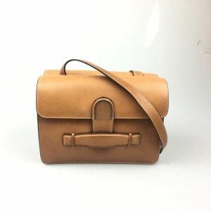 Celine Crossbody bag light brown leather