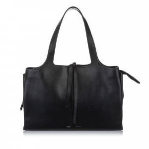 Celine Medium Trifold Leather Tote Bag