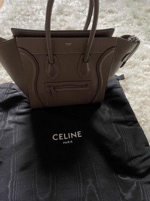 Celine Micro Lugagge Tasche Khaki