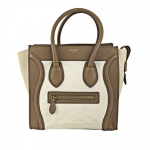 Celine Micro Luggage Leather Tote Bag