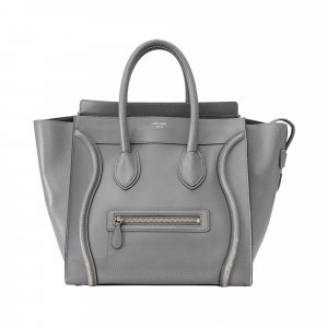 Celine Mini Luggage Leather Tote Bag