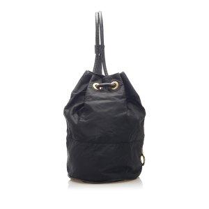 Celine Shoulder Bag black nylon
